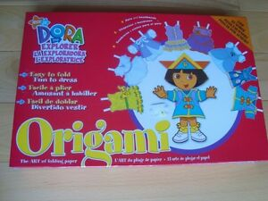 Dora The Explorer Origami - The Art Of Folding Paper- Sealed New