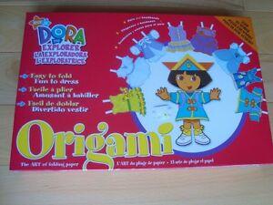 Dora The Explorer Origami - The Art Of Folding Paper- Sealed New Kitchener / Waterloo Kitchener Area image 1