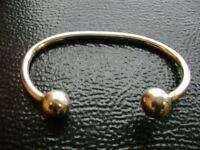 solid sterling silver bangle bracelet