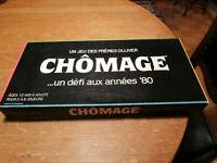 VINTAGE  rare Jeux de société    CHOMAGE année 1983
