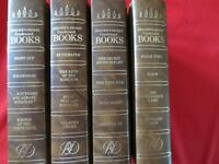 4 Readers Digest Condensed Books