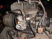 "1976 Arctic Cat Jag 340 motor, complete and runs great ""RARE"""