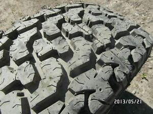 One BRAND NEW Wide Climber All Terrain LT 285/70R16.