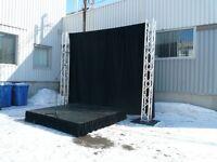 Rideaux de scène à louer pour 140 $ City of Montréal Greater Montréal Preview