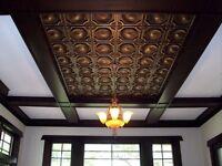 Faux Tin Ceiling Tiles - Ceiling Decor