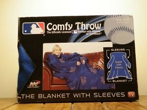 "New York Mets throw blanket with sleeves (48"" x 71"") -New In Box"