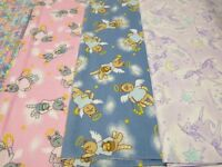 Sewing Fabric - Flannelette By Northcott - Cat print & Unicorns