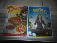 Girl's DVD's