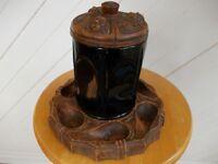 Antique Pipe Holder