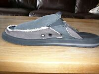 Sanuk Sidewalk Surfers Mens sz8 BRAND NEW! (2 pairs avail.)