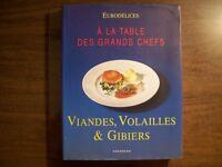Viandes, Volailles et Gibiers-    À La Table Des Grands Chefs