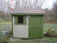 6x8 Garden Shed - Custom Built by Durham Sheds