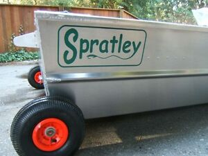 New Spratley fishing boats aluminum 8/10/12'/ LG Dog Houses $325