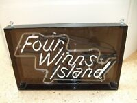 four winns island neon