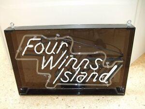 four winns island neon