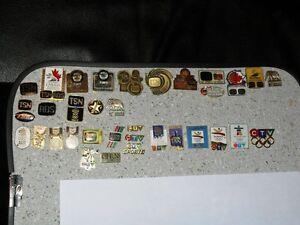 35 TSN + CTV pin pins Baseball Hockey Curling Oly or  Bobblehead