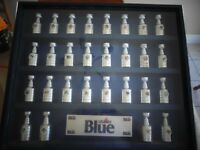 Labatt Blue Mini Stanley Cup Framed Collection