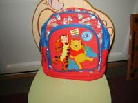 WINNIE THE POOH BACKPACK/TOYS/SUITCASE