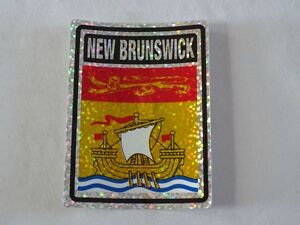 100 NEW BRUNSWICK FLAG STICKERS