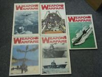 Weapons and Warfare books $20.00 each or $70.00 SET