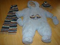 Manteau d'hiver pour bébé