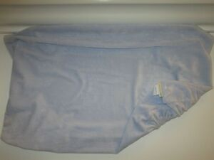 Pottery Barn Kids Blue Chamois Change Pad Cover $35 new