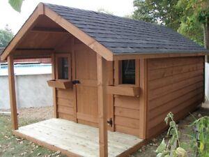 Sheds, Garden Sheds - Solid Wood - European Style Windsor Region Ontario image 6