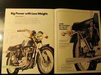 Vintage Motorcycle sales brochures