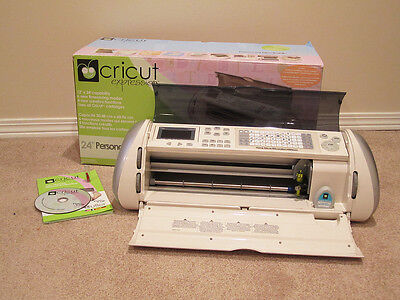 Cricut Expression Machine + Sure Cuts A Lot 2 (scal) Software + Cartridge