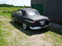 WANTED....1950 or 1951 Ford convertible top assembly & back seat