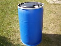 Wanted >>> REMOVABLE LID Plastic Barrels Or Steel Drums.