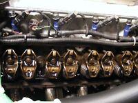 Mustang parts, 5.0 -e7 valvetrain, ,couplers, swaybar.