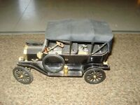 Model A Ford die cast car.