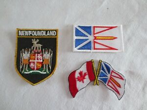 Newfoundland Iron-On Patches