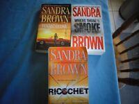 Selected Sandra Brown Books