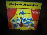 The Smurfs All Star Show Record Album