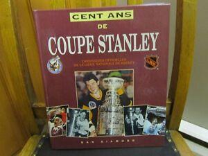 COUPE STANLEY livre les 100 ANS  LNH collectionneur   je poste