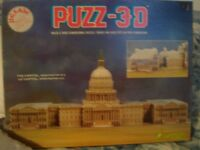 3D Puzzle of White House