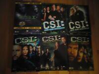 C.S.I. Seasons 1-6 on DVD