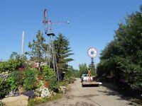 Restored Antique Windmills