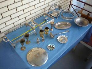 Lot de vieilles vaisselles et articles de cuisine