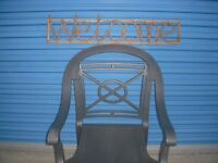 WELCOME natural rattan