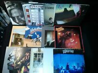Another set of rock vinyl records