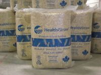 HealthiStraw - Premium Animal Bedding - replaces shavings/bales