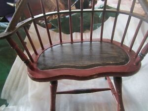 american girl type doll furniture wooden  bench