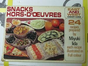 Snacks Hors-D'Oeuvres, 24 Recipes