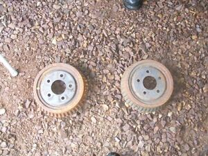 2000 Pontiac Grand Am Rear Break Drums Like New