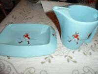 Wade Pottery Coin Tray and Picher