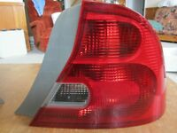Civic 2 door coupe tail light, pass side