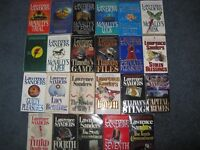 Lawrence Sanders  books $1 each or $15 for the lot